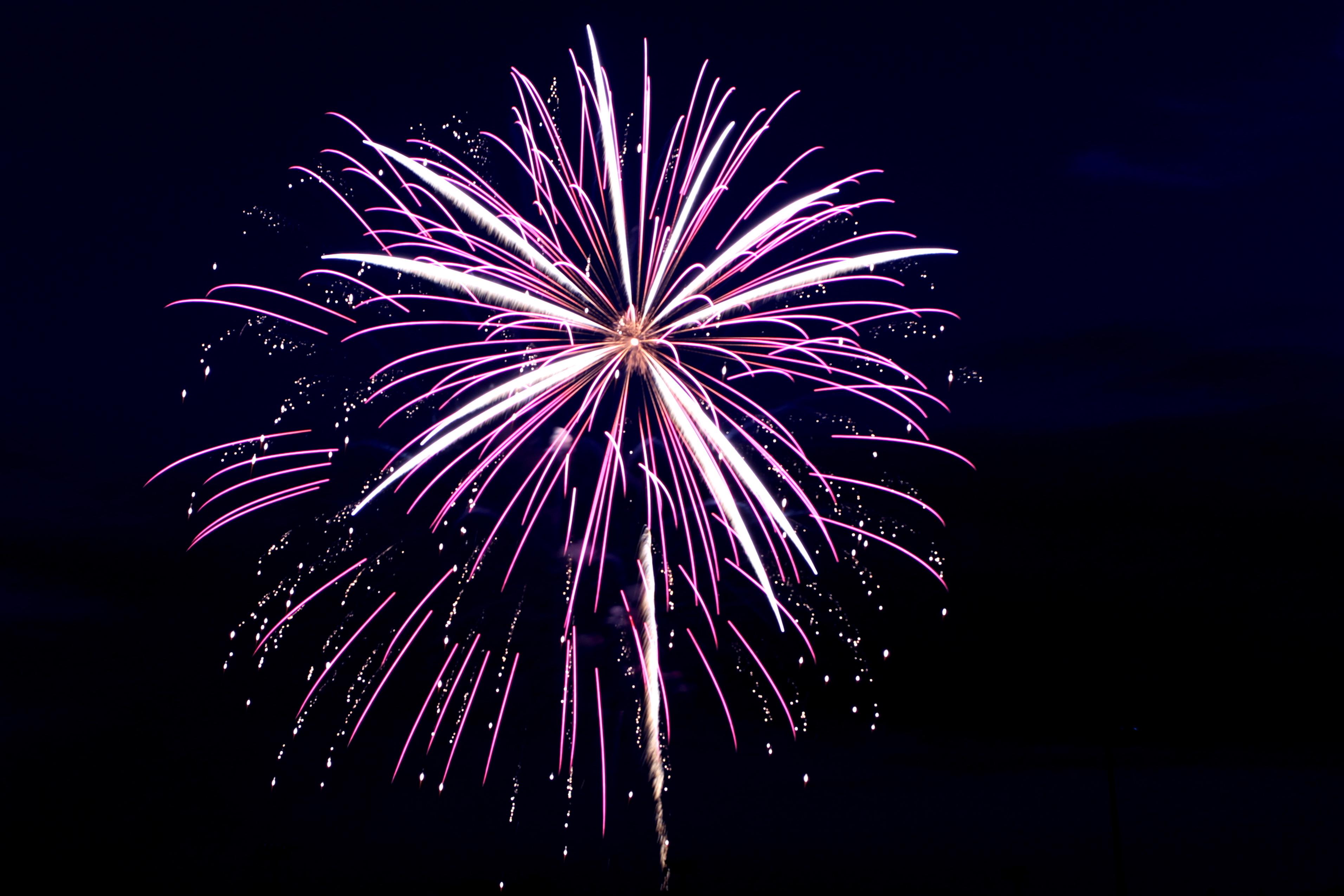 Campbell Field Fireworks The Shutterbug Geek