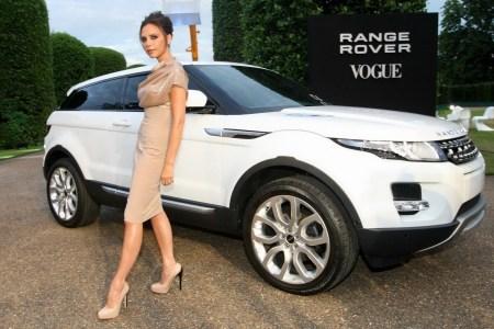 2012 Range Rover Evoque with Victoria Beckham