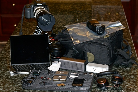 Gear Bag and Contents
