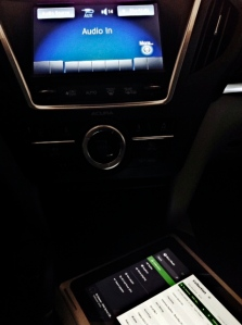 Acer Aspire Switch 10 in Acura MDX